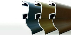 Goterones vierteaguas de aluminio