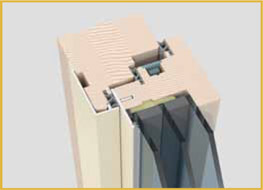 Sistema ventana madera alumino aluflex europrofili
